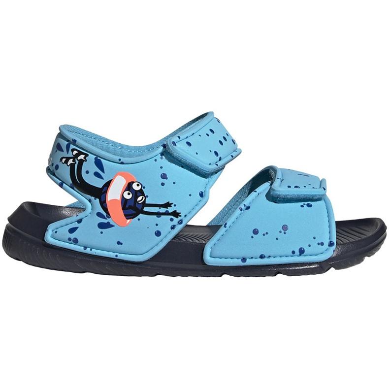 Sandały adidas Altaswim C Jr EG2178 niebieskie