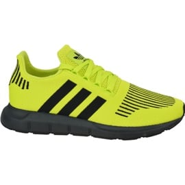 Buty adidas Swift Run Jr EE6797 żółte