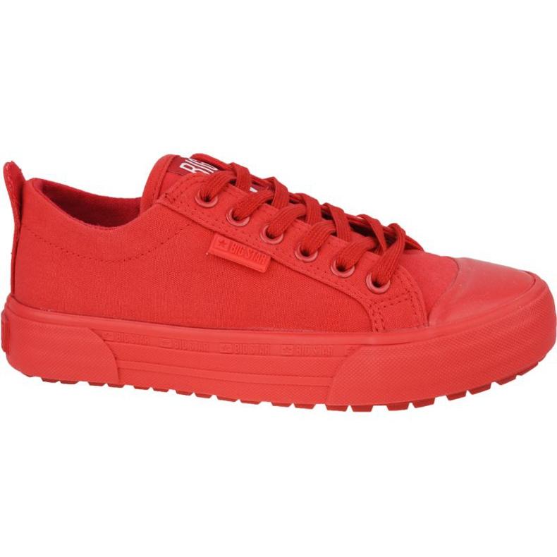 Buty Big Star Shoes J W FF274A085 czerwone