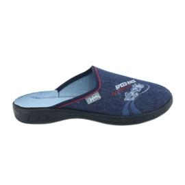 Befado kolorowe obuwie dziecięce 707Y403 czerwone granatowe niebieskie