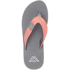 Klapki Kappa Cally W 242834 2916 wielokolorowe szare