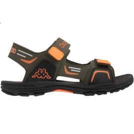Sandały Kappa Pure T Footwear Jr 260594T 3144 pomarańczowe zielone
