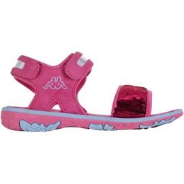 Sandały Kappa Seaqueen K Footwear Jr 260767K 2260 niebieskie różowe
