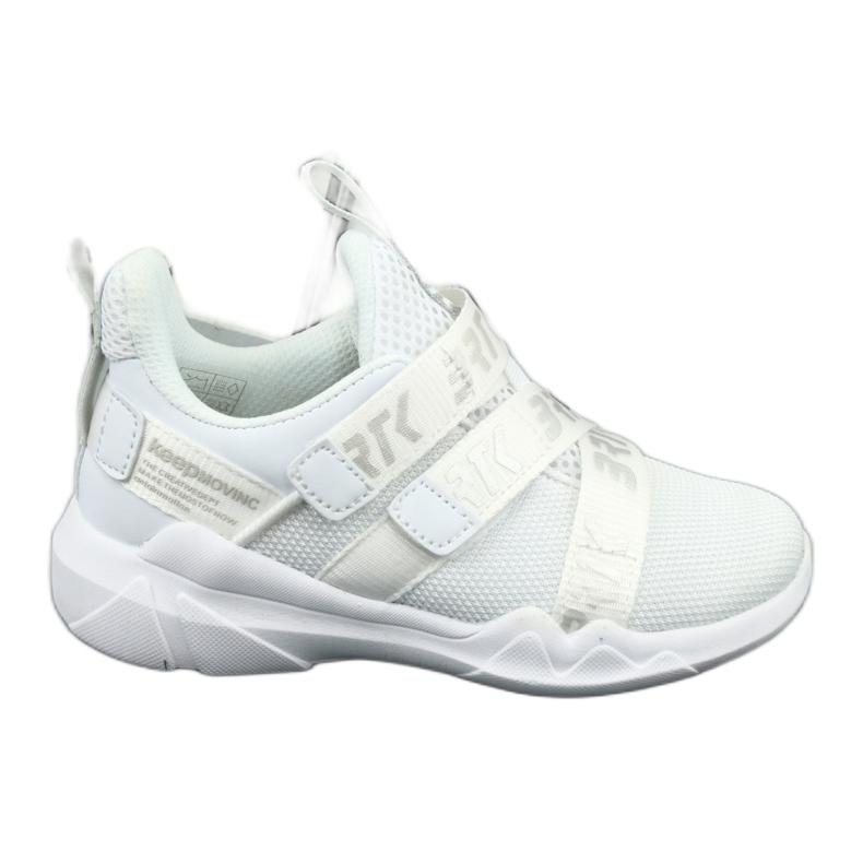 Bartek 75213 Buty Sportowe wkładka skórzana białe szare