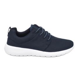 Granatowe obuwie sportowe 9-6836B-12