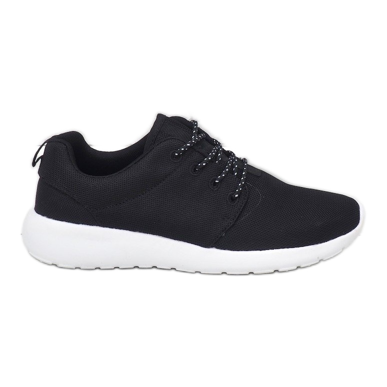 Czarne obuwie sportowe 9-6836A-12