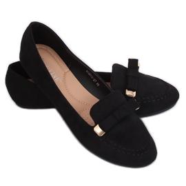 Mokasyny damskie czarne 2S2018-27 Black