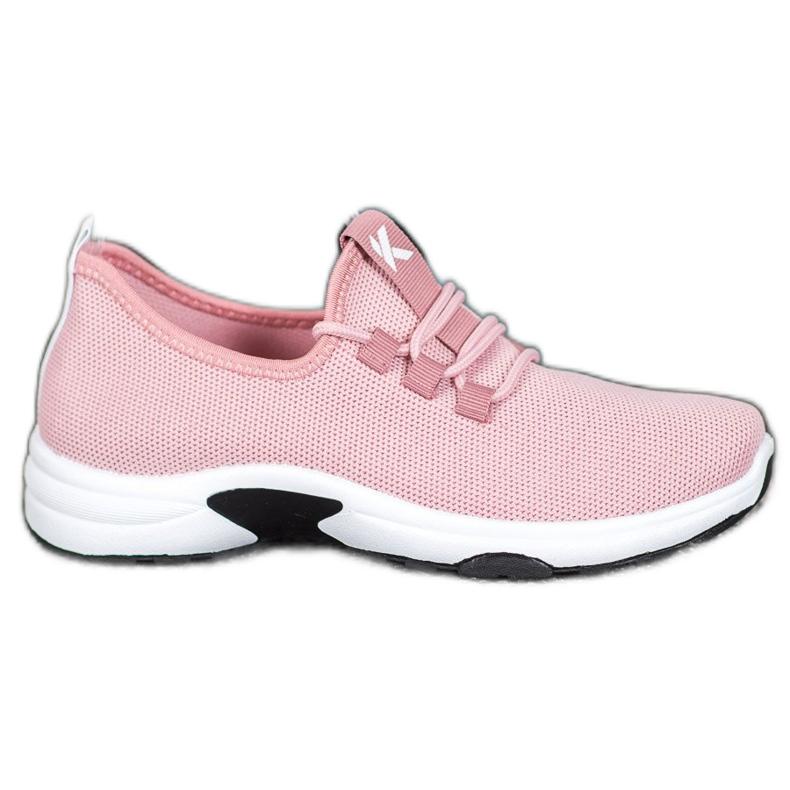 Kylie Klasyczne Buty Sportowe różowe