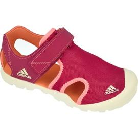 Sandały adidas Captain Toey Kids S75751 różowe