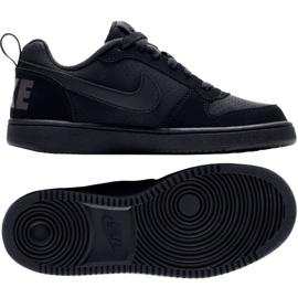 Buty Nike Court Borough Low Gs 839985 001 czarne