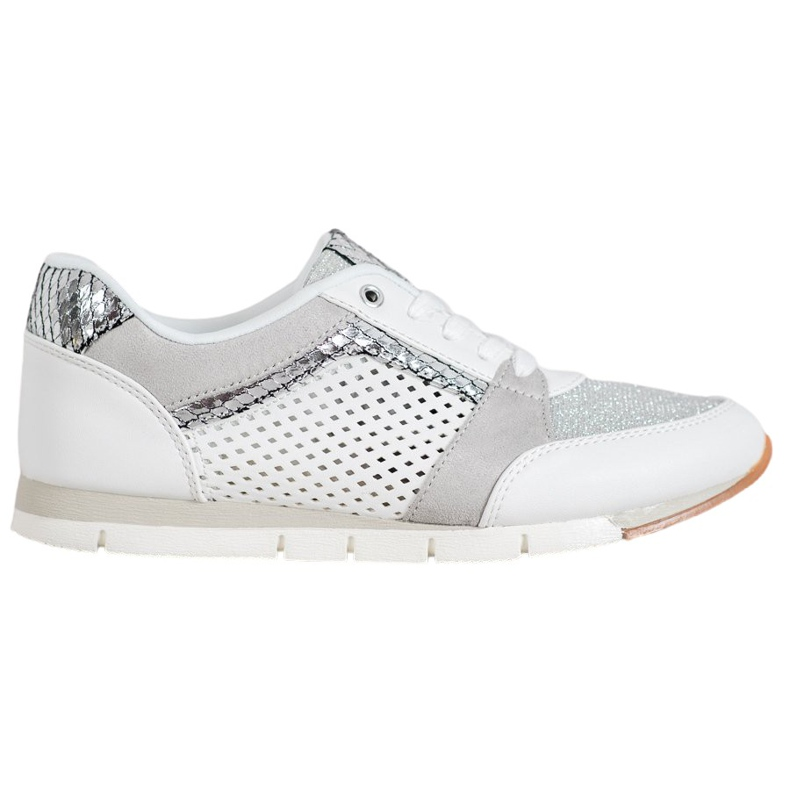 Kylie Ażurowe Buty Sportowe białe