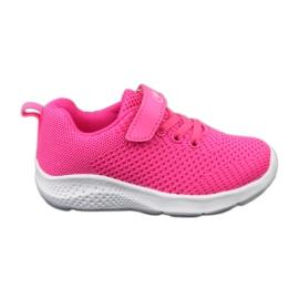Befado obuwie dziecięce 516X044 różowe