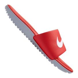 Klapki Nike Kawa Slide Jr 819352-600 czerwone
