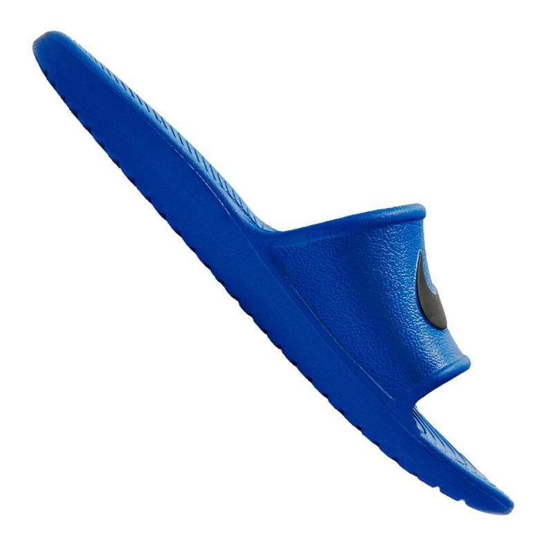 Klapki Nike Kawa Shower M 832528-403 niebieskie