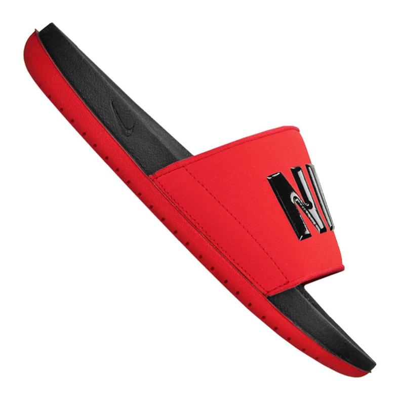 Klapki Nike Offcourt Slide M BQ4639-002 czerwone