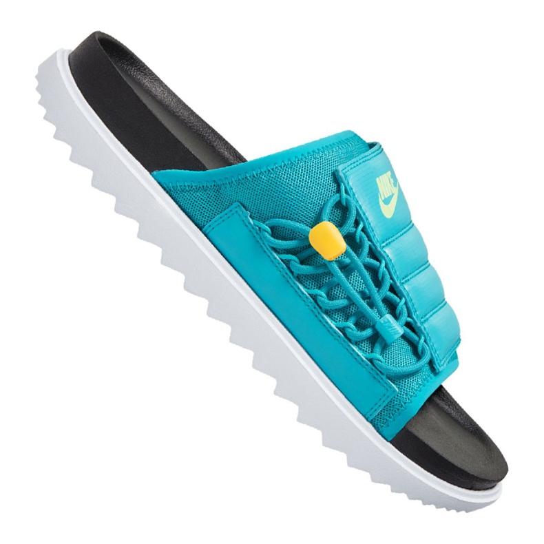 Klapki Nike Asuna Slide M CI8800-003 niebieskie
