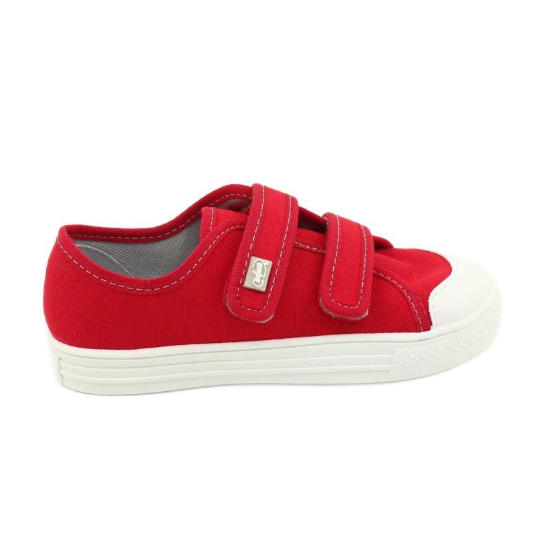 Befado obuwie dziecięce 440X012 czerwone