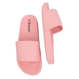 Klapki damskie różowe CK78P Pink