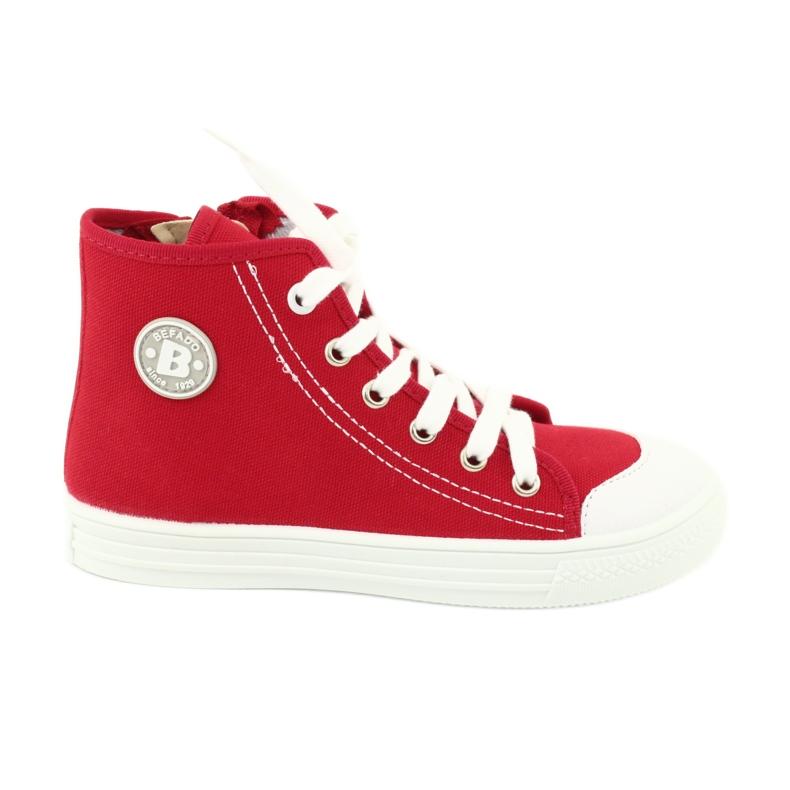Befado obuwie dziecięce 438X011 czerwone