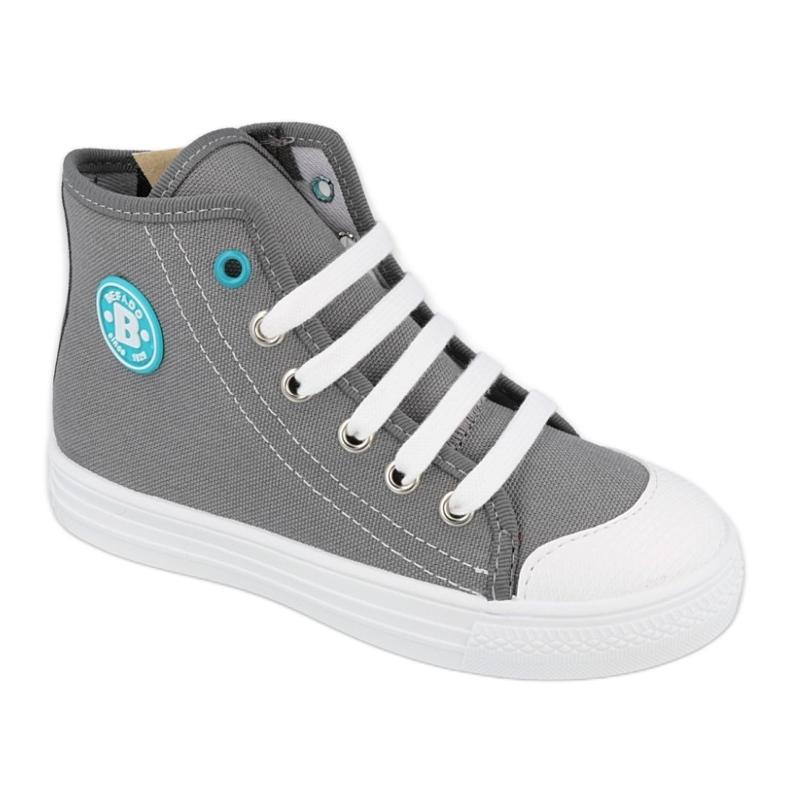 Befado obuwie dziecięce 438X014 szare