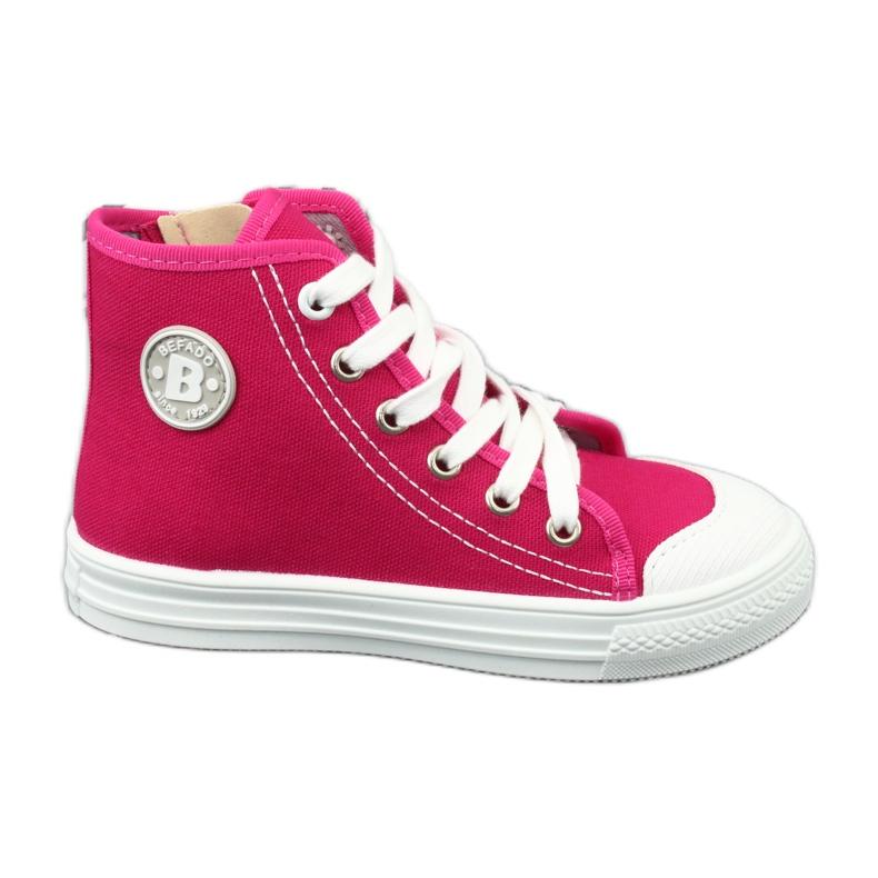 Befado obuwie dziecięce 438X012 różowe