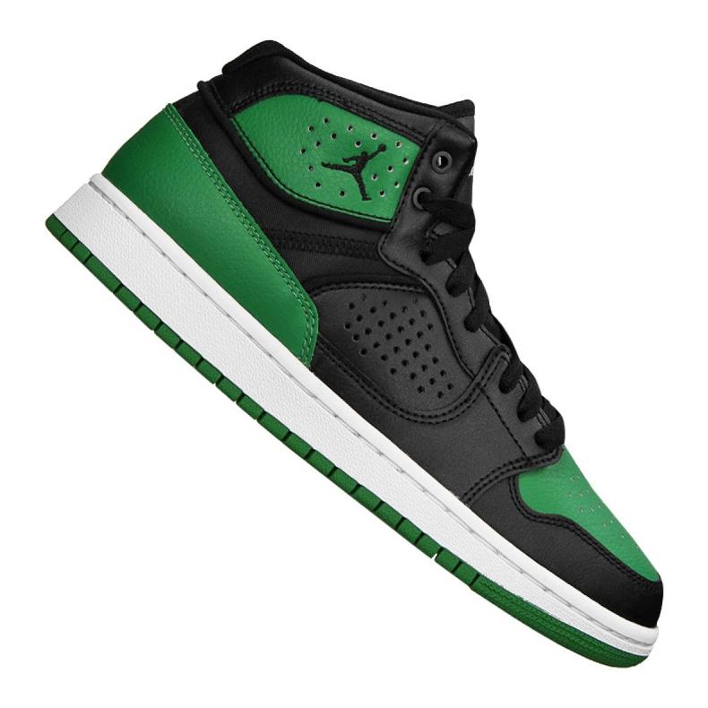 Buty Nike Jordan Access Jr AV7941-013 zielone wielokolorowe