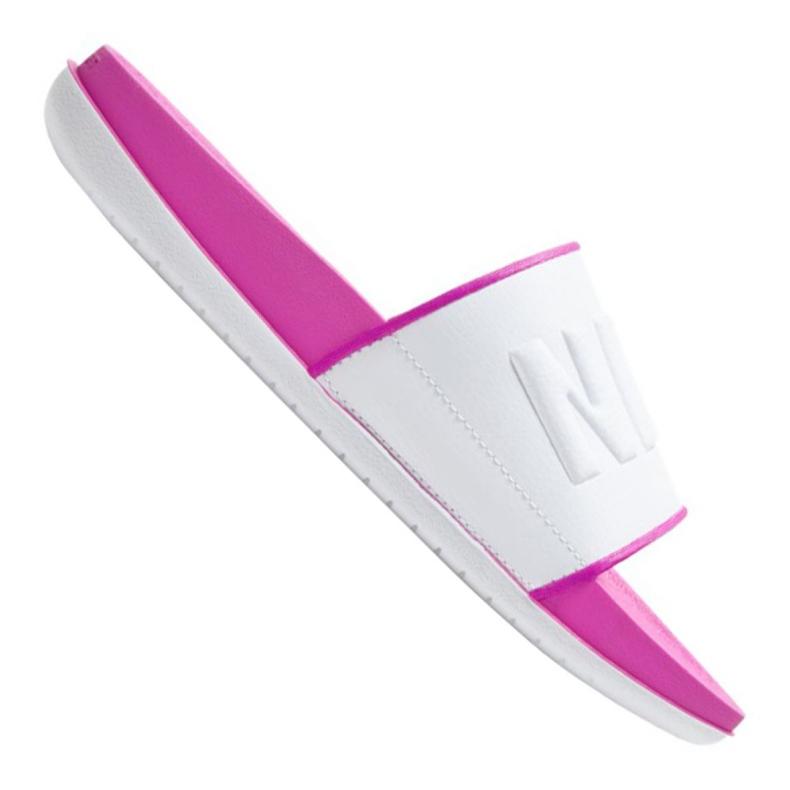 Klapki Nike Wmns Offcourt Slide W BQ4632-602 białe