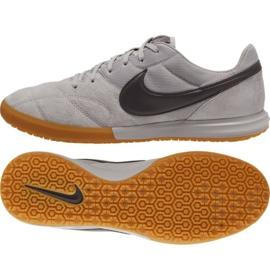 Buty halowe Nike Premier Ii Sala M AV3153-009 szare wielokolorowe