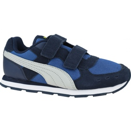 Buty Puma Vista V Ps Jr 369540 09 niebieskie