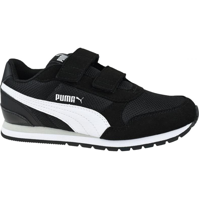 Buty Puma St Runner V2 Mesh Ps Jr 367136 06 czarne