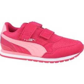 Buty Puma St Runner V2 Mesh Ps Jr 367136 08 różowe