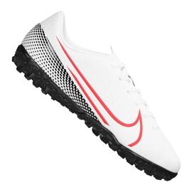Buty piłkarskie Nike Vapor 13 Academy Tf Jr AT8145-160 białe wielokolorowe