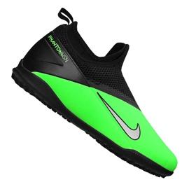 Buty piłkarskie Nike Phantom Vsn 2 Academy Df Tf Jr CD4078-306 zielone wielokolorowe