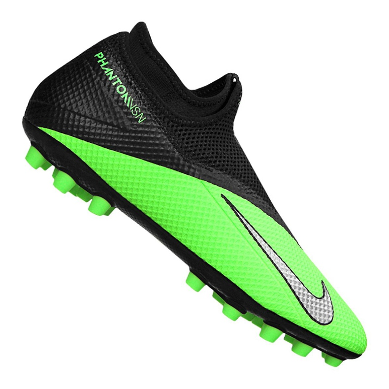 Buty piłkarskie Nike Phantom Vsn 2 Academy Df Ag M CD4155-306 zielone wielokolorowe