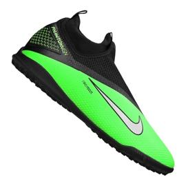 Buty piłkarskie Nike React Phantom Vsn 2 Pro Df Tf M CD4174-036 wielokolorowe zielone