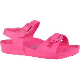 Sandały Birkenstock Rio Eva Kids 1015463 różowe