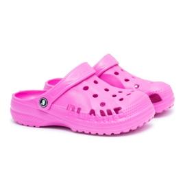 Flameshoes Klapki Dla Chłopca Dziewczynki Dziecięce Piankowe Kroksy Różowe