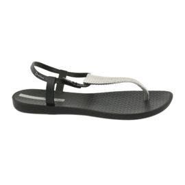 Sandałki japonki Ipanema 82862 czarne szare