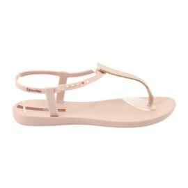 Sandałki japonki Ipanema 82862 różowe żółte