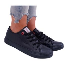Damskie Trampki Cross Jeans Czarne DD2R4029