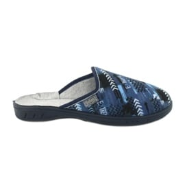 Befado kolorowe obuwie dziecięce  707Y402 czarne granatowe niebieskie