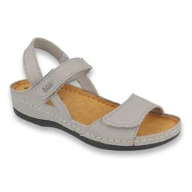 Inblu obuwie damskie 158D103 szare