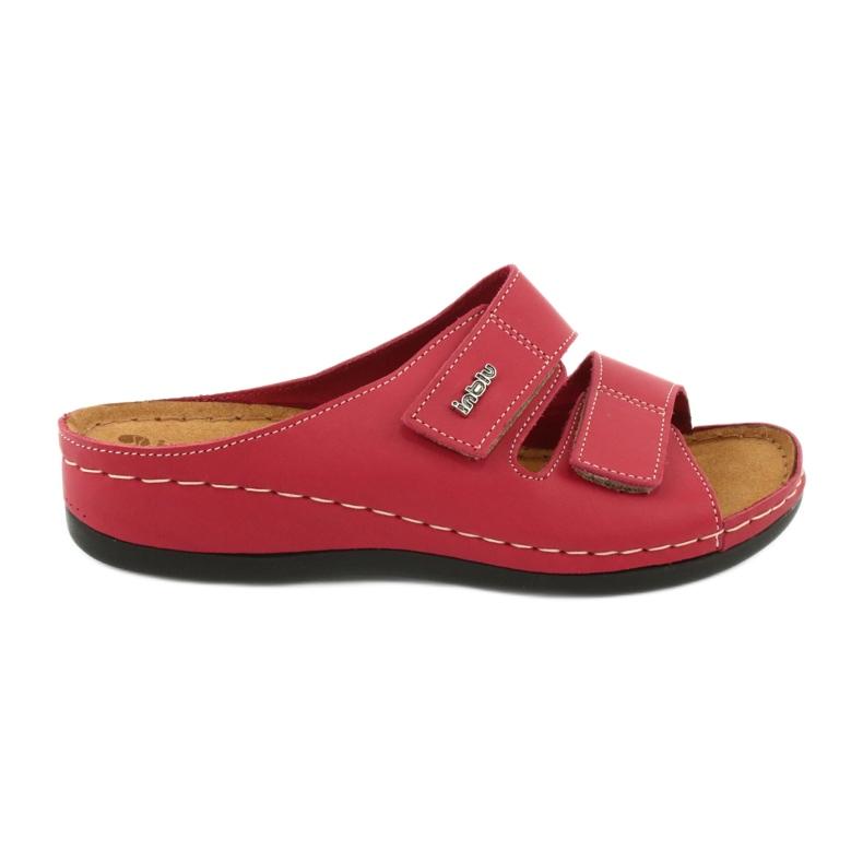 Inblu obuwie damskie 158D105 czerwone