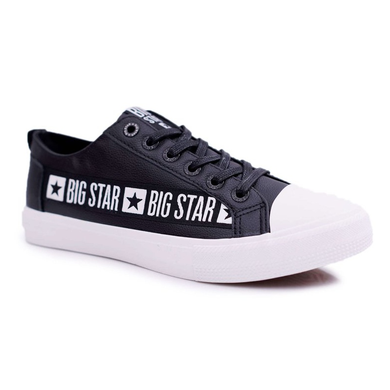 Trampki Męskie Big Star Czarne EE174069