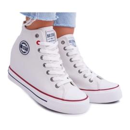 Sneakersy Damskie Big Star Białe EE274616