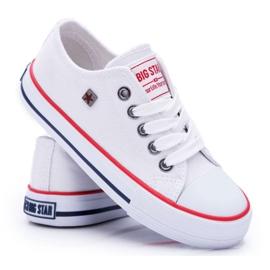Trampki Dziecięce Big Star Białe FF374200