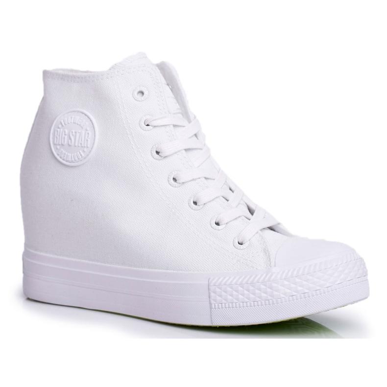 Sneakersy Damskie Big Star Białe FF274A192