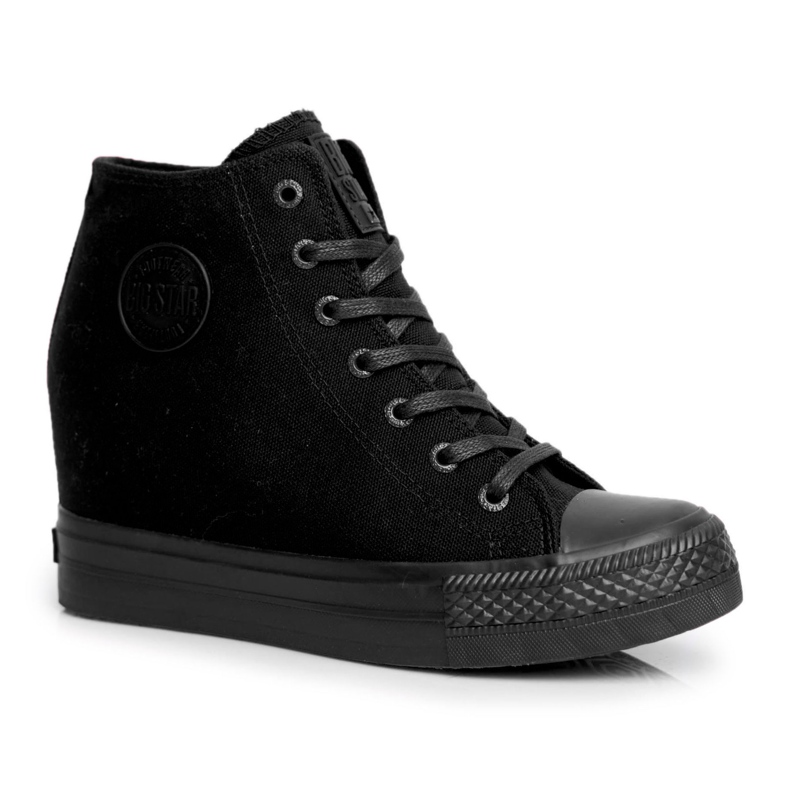 Sneakersy Damskie Big Star Czarne FF274A191