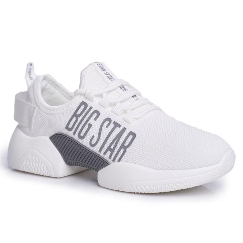 Damskie Sportowe Obuwie Big Star Białe FF274282