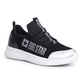 Damskie Sportowe Obuwie Big Star Czarne FF274A409